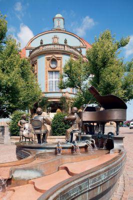 Die Donauquelle als Jungbrunnen