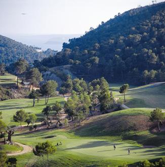 Golfen auf Mallorca –