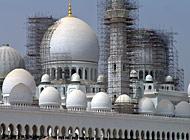 Größter Moscheebau in Abu Dhabi