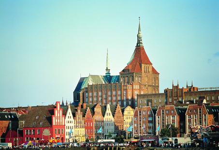 Rostocker Sieben und Schweriner Schloss