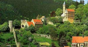Schlosshotel in Hirschhorn