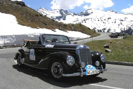 Die Kitzbüheler Alpenrallye: