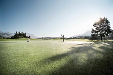 Start der Golfsaison in Kitzbühel