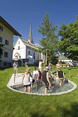 2009 kneippen alle zusammen in Scheffau