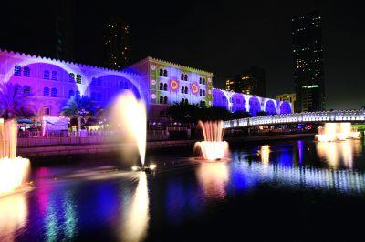 Sharjah Light Festival und Sharjah Biennale