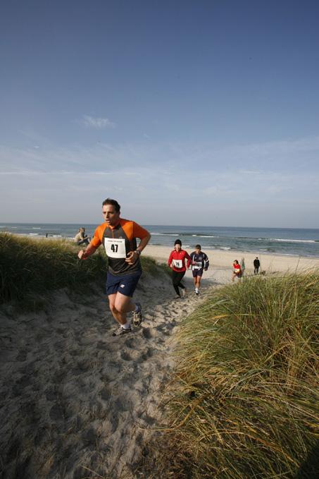 Staffelmarathon für Strandläufer auf Fischland