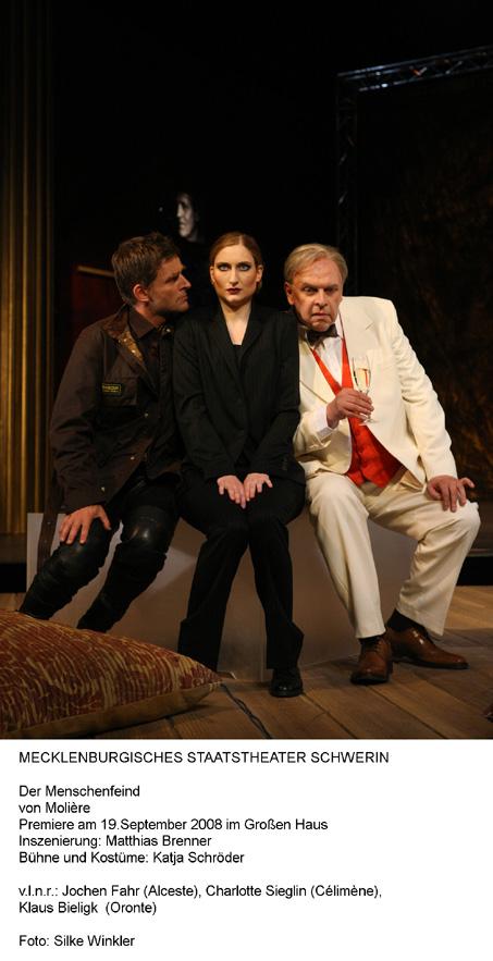 Zwei Schauspielpremieren zum Spielzeitauftakt in Schwerin