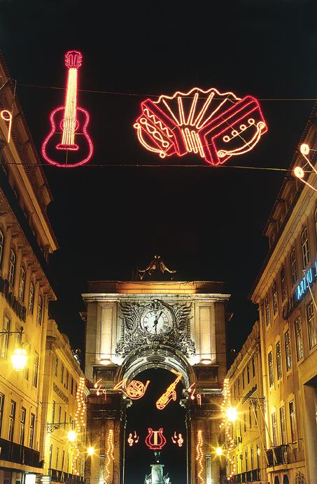 Der -St. Martin Sommer- in Lissabon